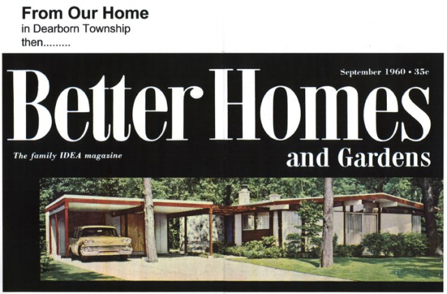 Dearborn Heights Home featured in Better Homes and Gardens