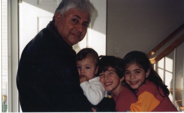 Ned and his grandchildren